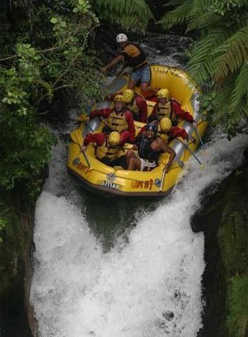 River rafting and kayaking